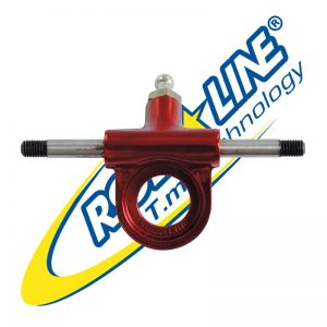Roll Line - Truck with steel axle - red