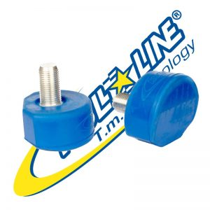 Roll Line - Toe stops blue